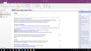 Microsoft Brings OneNote 2016 Back from the Dead