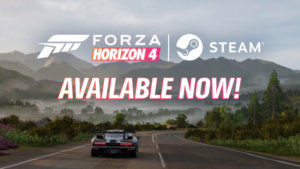 Forza Horizon 4 Available Now on Steam