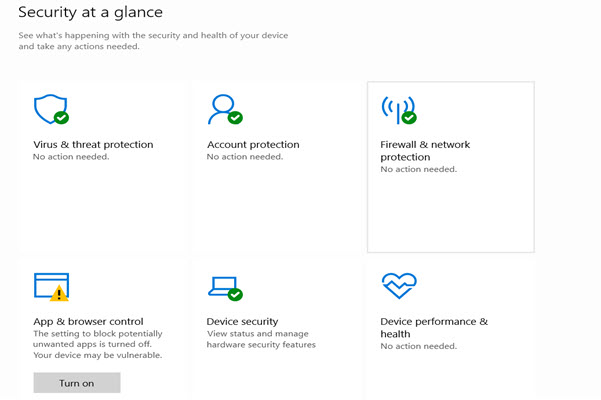 Windows Defender and security