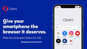 Opera Touch is Renamed to Opera on iOS