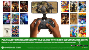 Backward Compatible Games Come to Xbox Cloud Gaming