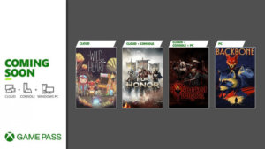 Microsoft Announces First Xbox Game Pass Titles for June