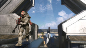 Microsoft Shows Off Halo Infinite Multiplayer Action