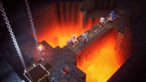 Minecraft Dungeons is Available on Steam